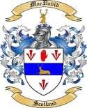 Mac David Family Crest from Scotland
