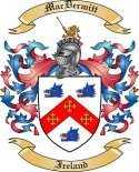 Mac Dermitt Family Crest from Ireland
