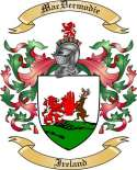 Mac Dermodie Family Crest from Ireland