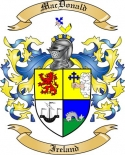 Mac Donald Family Coat of Arms from Ireland