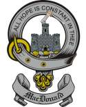 Mac Donald Family Coat of Arms from Scotland2