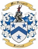 Mac Dougall Family Coat of Arms from Scotland1
