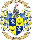 Mac Dougall Family Coat of Arms from Scotland