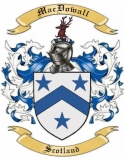 Mac Dowall Family Coat of Arms from Scotland1