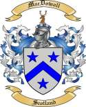 Mac Dowall Family Coat of Arms from Scotland2