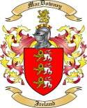Mac Downey Family Crest from Ireland