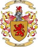Mac Duff Family Crest from Scotland