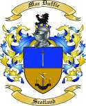 Mac Duffie Family Coat of Arms from Scotland