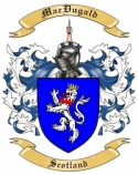 Mac Dugald Family Crest from Scotland
