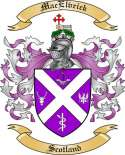 Mac Elvrick Family Crest from Scotland2