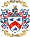 Mac Enaney Family Crest from Ireland