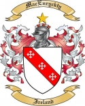 Mac Enryckty Family Coat of Arms from Ireland