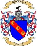 Mac Fadden Family Crest from Ireland