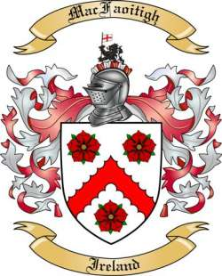 Mac Faoitigh Family Coat of Arms from Ireland