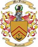 Mac Feeter Family Crest from Scotland