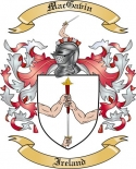 Mac Gavin Family Crest from Ireland