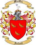 Mac Gee Family Crest from Ireland