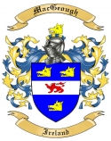 Mac Geough Family Coat of Arms from Ireland