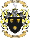Mac Ghy Family Coat of Arms from Scotland