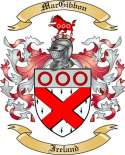 Mac Gibbon Family Crest from Ireland
