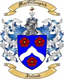 Mac Gillespick Family Coat of Arms from Ireland