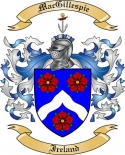 Mac Gillespie Family Coat of Arms from Ireland