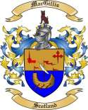 Mac Gillis Family Crest from Scotland2
