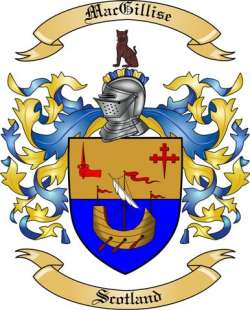 Mac Gillise Family Coat of Arms from Scotland