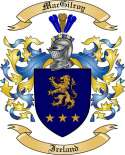 Mac Gilroy Family Coat of Arms from Ireland