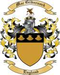 Mac Gilvernock Family Crest from England