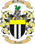 Mac Ginley Family Crest from Ireland