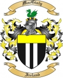 Mac Ginly Family Coat of Arms from Ireland