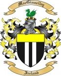 Mac Ginnelley Family Crest from Ireland