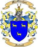 Mac Glashen Family Coat of Arms from Ireland