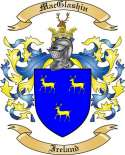 Mac Glashin Family Crest from Ireland