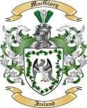Mac Glory Family Crest from Ireland