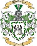 Mac Glowry Family Crest from Ireland