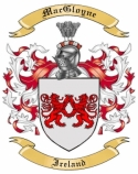 Mac Gloyne Family Crest from Ireland