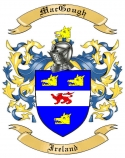 Mac Gough Family Crest from Ireland