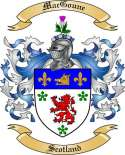 Mac Goune Family Crest from Scotland