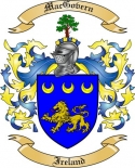 Mac Govern Family Crest from Ireland