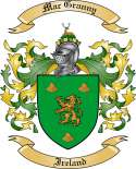 Mac Granny Family Crest from Ireland