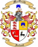 Mac Grath Family Crest from Ireland