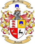 Mac Graw Family Crest from Ireland