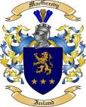 Mac Greevy Family Coat of Arms from Ireland
