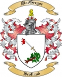 Mac Gregor Family Crest from Scotland