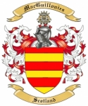 Mac Guillonies Family Crest from Scotland