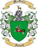 Mac Guire Family Coat of Arms from Ireland2