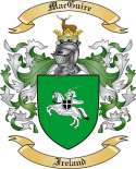 Mac Guire Family Coat of Arms from Ireland