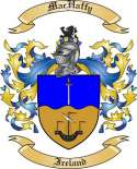 Mac Haffy Family Crest from Ireland